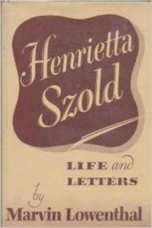 Photo from profile of Henrietta Szold