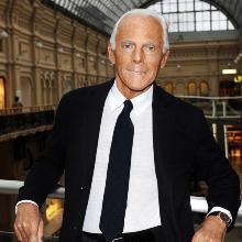 Giorgio Armani Born July 11 1934 Italian Fashion Designer World Biographical Encyclopedia