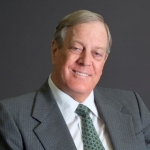 Photo from profile of Charles Koch
