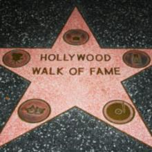 Award A star on the Hollywood Walk of Fame