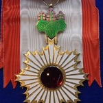 Award Order of the Rising Sun-Gold and Silver Star