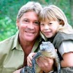 Photo from profile of Steve Irwin