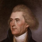 Achievement Thomas Jefferson at 49 by Charles Willson Peale of Thomas Jefferson