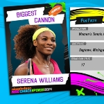 Photo from profile of Serena Williams