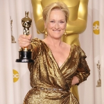 Achievement Meryl Streep won the Academy Award for Best Actress in 2012 for her role of Margaret Thatcher in The Iron Lady. of Meryl Streep
