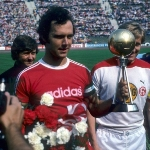 Photo from profile of Franz Beckenbauer