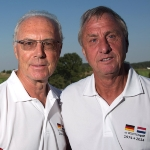 Johan Cruyff  - friend of Franz Beckenbauer
