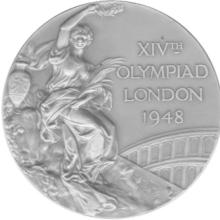Award Olympic Games Silver Medal