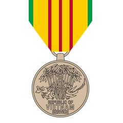 Award Vietnam Service Medal with two stars