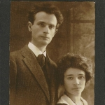 Achievement Portrait of Peretz Hirschbein and Esther Shumiatcher of Esther Shumiatcher