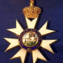 Award Knight Grand Cross of St. Michael and St. George (1895)