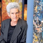 Photo from profile of Larry Poons