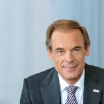Photo from profile of Volkmar Denner