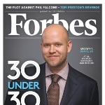 Achievement Daniel Ek On The Cover Of Forbes of Daniel Ek