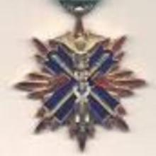 Award Order of the Golden Kite, 4th class (1891)