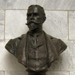 Achievement Posthumous bust of John Hay, by J. Massey Rhind of John Hay