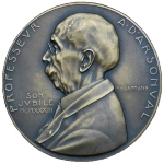 Achievement Commemorative Medal on the occasion of the Professor d'Arsonval's retirement on May 27, 1933. of Jacques d'Arsonval