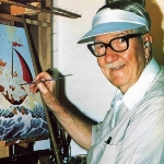 Photo from profile of Carl Barks