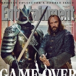 Achievement Rory McCann on the cover of the Entertainment WEEKLY Magazine  of Rory McCann