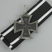 Award Iron Cross on White Ribbon