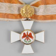 Award 2nd class Red Eagle Order with oak leaves
