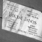 Photo from profile of János Bolyai