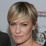 Robin Wright - colleague of Kevin Spacey
