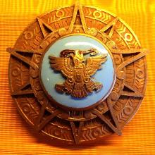 Award Order of the Aztec Eagle from the Mexican Ministry of Foreign Affairs