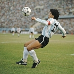 Photo from profile of Diego Maradona