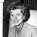 Eunice Kennedy Shriver  - Sister of John Kennedy