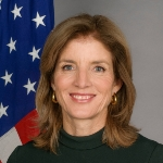Caroline Kennedy  - Daughter of John Kennedy