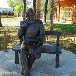 Achievement Monument to Bekhterev in Yelabuga. of Vladimir Bekhterev