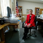 Photo from profile of Ruth Ginsburg