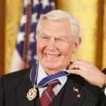 Achievement Andy Griffith receiving the Presidential Medal of Freedom.  of Andy Griffith