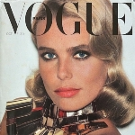 Achievement Margaux Hemingway of the cover of Vogue magazine, Paris, October 1976, by Helmut Newton. of Margaux Hemingway