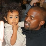 North West - Daughter of Kanye West