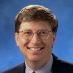 Photo from profile of Bill Gates