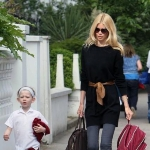 Matthew Drummond  - child of Claudia Schiffer