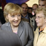 Herlind Kasner  - mother of Angela Merkel