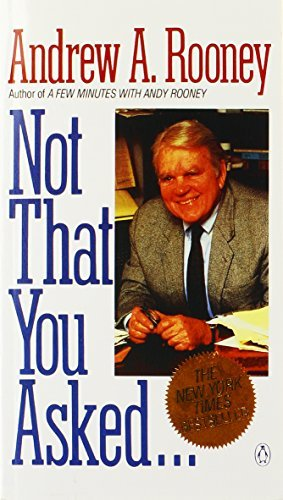 book Not That You Asked... by Rooney Andrew A. (1990-05-01) Paperback