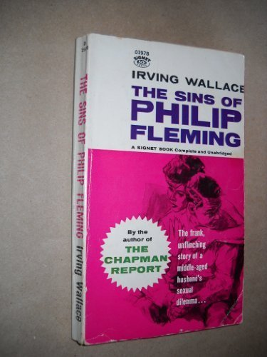 book The Sins of Philip Fleming (Signet) by Wallace, Irving (1961) Mass Market Paperback