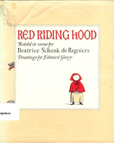 book Red Riding Hood; retold in verse for boys and girls to read themselves