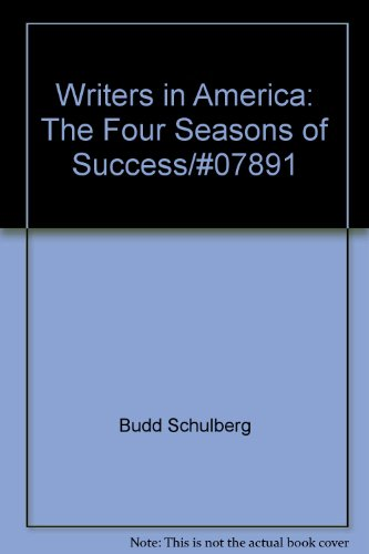 book Writers in America: The four seasons of success