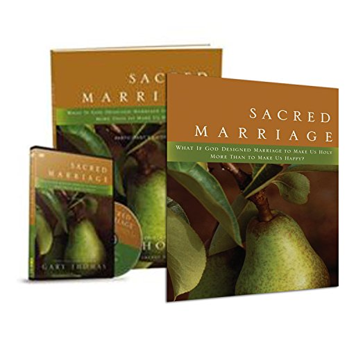 book Gary L. Thomas - Sacred Marriage Full Set - Sacred Marriage: What if God Designed Marriage to Make Us Holy More Than to Make Us Happy (Book , Study Guide , DVD)