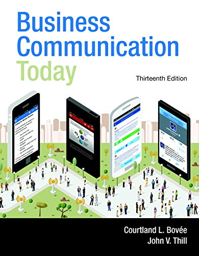 book Business Communication Today (13th Edition)