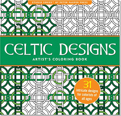 book Celtic Designs Adult Coloring Book (31 stress-relieving designs) (Studio)