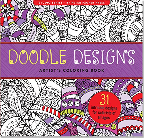 book Doodle Designs Adult Coloring Book (31 stress-relieving designs) (Studio)