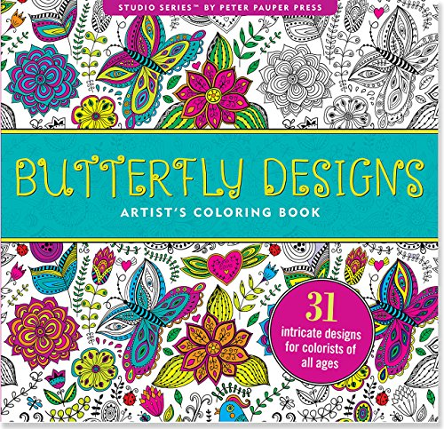 book Butterfly Designs Adult Coloring Book (31 stress-relieving designs) (Studio Series)