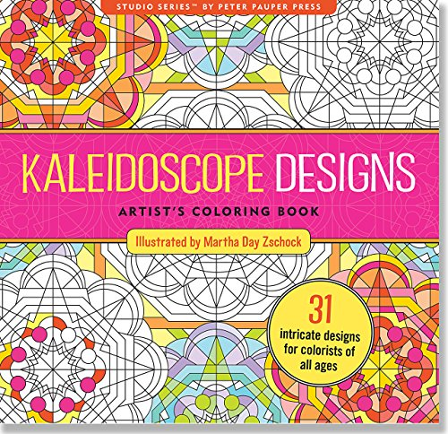 book Kaleidoscope Designs Adult Coloring Book (31 stress-relieving designs) (Studio)