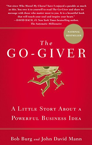 book The Go-Giver: A Little Story About a Powerful Business Idea